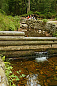 historical water drainage, Harz Mountains, Lower Saxony, northern Germany