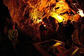 Iberg stalactite caves, Bad Grund, Harz Mountains, Lower Saxony, northern Germany