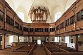 church of St Blasii, baroque, concert church, Quedlinburg, Harz mountains, Saxony Anhalt, Germany