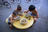 Children. Xian. Shaanxi province. China