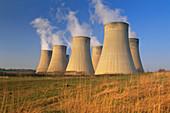 Coal-fired power station. Ratcliffe-on-Soar. Nottinghamshire. England