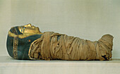 Child mummy. Museum of Greco-Roman Antiques. Alexandria. Egypt