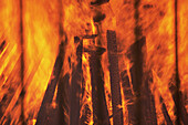 Bonfire, Bonfires, Burn, Burning, Color, Colour, Concept, Concepts, Energy, Fire, Fires, Heat, Horizontal, Lumber, Orange, Power, Wood, CatCommerce, 15659, agefotostock