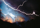 Anger, Bolt, Bolts, Cloud, Clouds, Color, Colour, Danger, Electric power, Electricity, Energy, Evil, Exterior, Hazard, Horizontal, Light, Lightning, Meteorology, Natural phenomena, Natural phenomenon, Nature, Night, Nighttime, Outdoor, Outdoors, Outside,