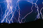 Anger, Bolt, Bolts, Color, Colour, Danger, Electric power, Electricity, Energy, Evil, Exterior, Hazard, Horizontal, Light, Lightning, Meteorology, Nature, Night, Nighttime, Outdoor, Outdoors, Outside, Power, Rage, Scenic, Scenics, Skies, Sky, Storm, Stor