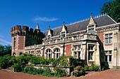 Castle. Wiège-Faty. Aisne. France