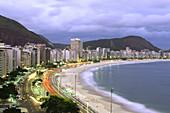 Copacabana Beach (view from Hotel Sofitel). Rio de Janeiro. Brazil