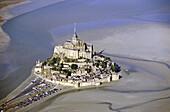 Mont Saint Michel. Manche, Normandie, France