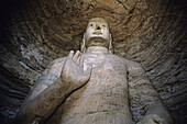 Buddhist sanctuary. Yungang grottos. China.