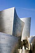 Walt Disney Concert Hall -(b.2004) Architect: Frank Gehry. Downtown. Los Angeles. California. USA.