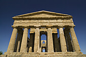 The Temple of Concordia (430 BC), Valley of the Temples (Sicily s Oldest Tourist Site), Agrigento. Sicily, Italy