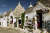 Terra dei Trulli-Unesco World Heritage Site, Trulli House Detail, Alberobello. Puglia, Italy