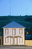 The former Hotel Richey. Alpine. West Texas. USA.