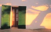 Late afternoon shadows. Ibiza. Balearic Islands. Spain