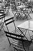 Chairs. Jardins du Luxembourg. Paris. France