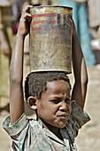Boy at market. Lalibela, province of Wollo. Ethiopia