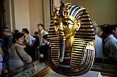 goldmask of Tutenchamun, museum Cairo, Egypt