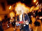 Typical carnival. Basel. Switzerland