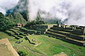 Main Plaza. Machu Picchu. Peru