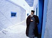 Greece, Cyclades, Santorini, Meg. alochori, Church, Pope