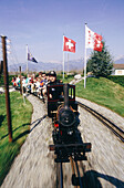 Small Trains Entertainment Park. Vaud. Switzerland