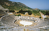 Ephesus theater, Greek antiquity. Aegean Sea. Turkey.