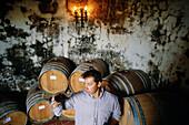 Agrotourism. Montecucco wine, near Grosseto. Tuscany. Italy.