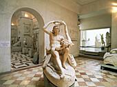Adonis and Venus. House of Canova. Possagno. Veneto. Italy.