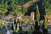 Spain. Andalousia. Granada. Houses of Albaicin neighbourhood