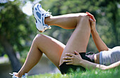 ntemporary, Daytime, Determination, Exercise, Exercises, Exterior, Female, Fit, Fitness, Focus, Grass