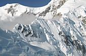 mountain ridge, Alaska Range