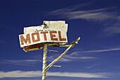 old motel sign