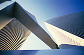 World Trade Center towers. New York City. USA
