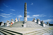 Wheel of Life , Gustav Vigeland s monolith of writing bodies at Frogner Park. Oslo. Norway