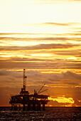 Oil rig, California, USA