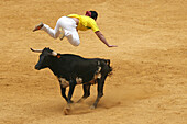 Recortador (bull-leaper), Spain