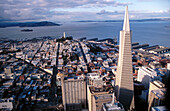 Transamerica Pyramid. San Francisco. California. USA