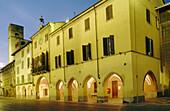 Palazzo del comune (Town hall). Alba. Piedmont. Italy