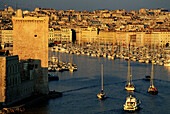 Vieux-Port (Old Harbour). Marseilles. France