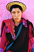 Teenager. San Juan Atitán. Cuchumatanes. Guatemala