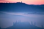 Val d Orcia. Tuscany. Italy