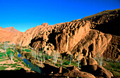 The Doigts de Singes. Geological formation. Dades Valley. High Atlas. Morocco