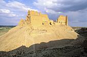Qalaat al-Rahba, ruins of old Arab fortress. Syria