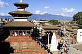 Durbar Square. Kathmandu. Nepal