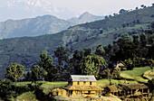 Traditional dwelling. Chetri. Pokhara region. Nepal