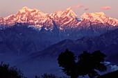 Ganesh mountain range. Gorkha region. Nepal