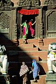 Shiva Parvati Temple. Durbar Square. Kathmandu. Kathmandu Valley. Nepal