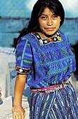 Woman portrait. Santa Catarina Palopo. Atitlan Lake. Guatemala