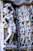 Parshvanatha s Jain temple. Ranakpur. Rajasthan, India