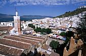 View over Chechaouene. Rif region, Morocco